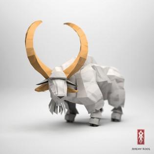 Jeremy Kool - The Paper Fox - Goat