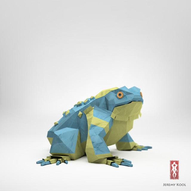 Jeremy Kool - The Paper Fox - Toad