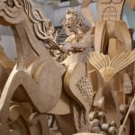 Fountain of Cardboard by James Grashow