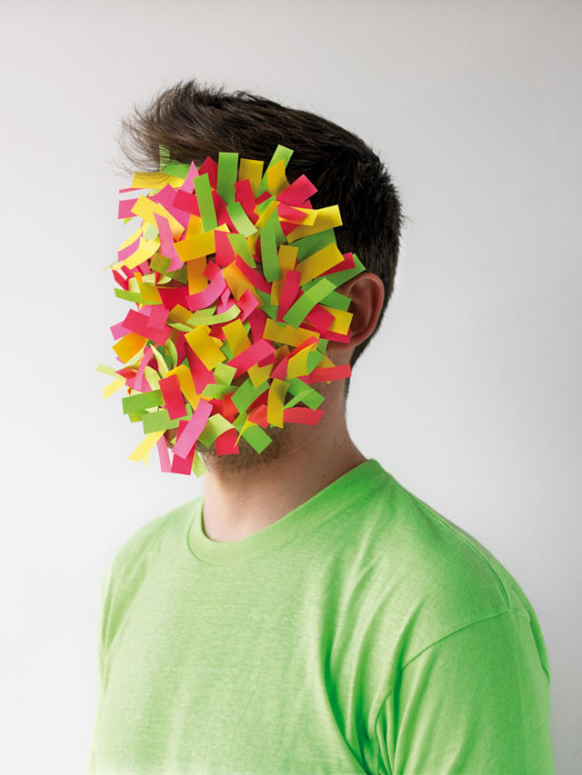 Paper Faces by Héctor Sos
