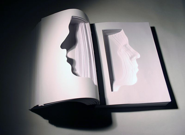 Book Portraits by Nicholas Galanin