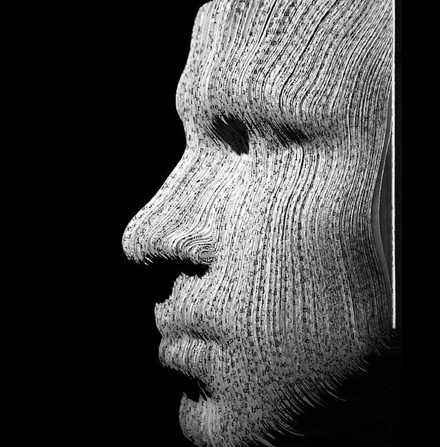 Book Portraits by Nicholas Galanin