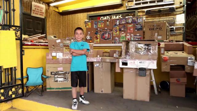 Cane's Cardboard Arcade