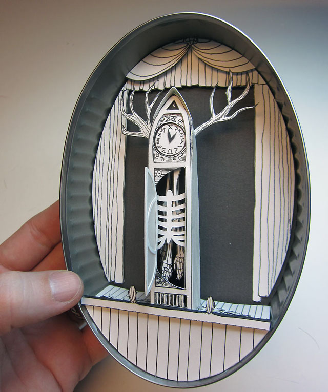 Miniature Paper Worlds of Jim Doran