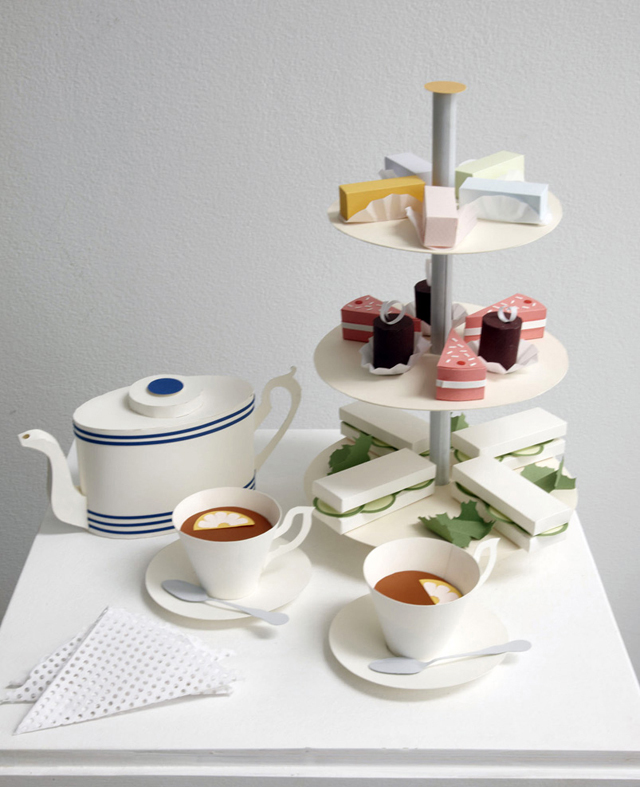 Interview With Paper Artist Benja Harney - Incu High Tea
