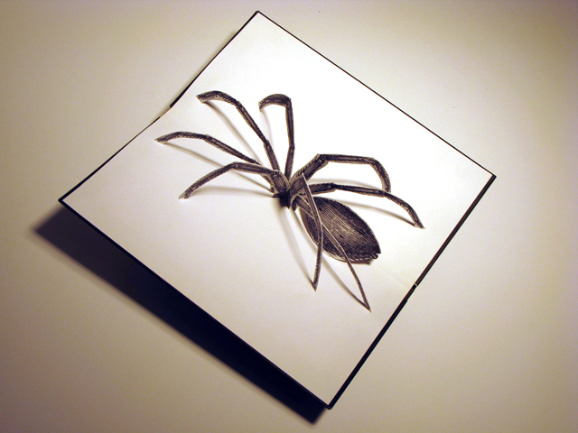 Interview With Paper Artist Benja Harney Victorian Spider