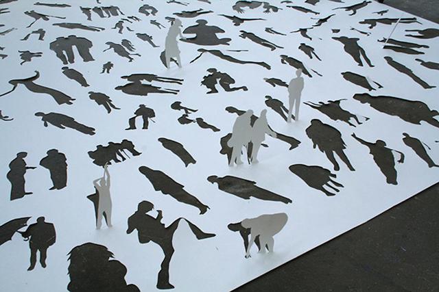 Transparent God Paper Sculpture