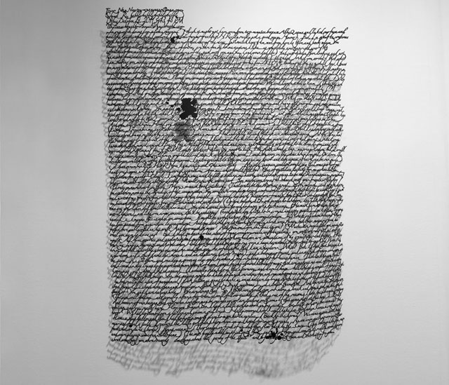 Paper Cut Messages by Annie Vought