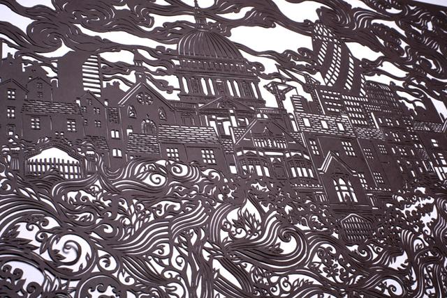 London Cityscape by Andy Singleton