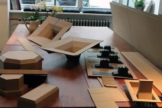 Bartek Elsner - Mini Ghettoblaster - Paper Sculpture - Construction