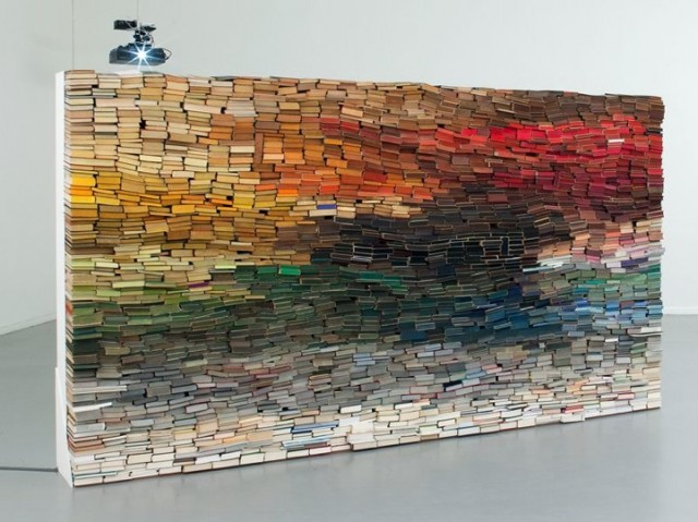 3,500 Colorful Books by Anouk Kruith