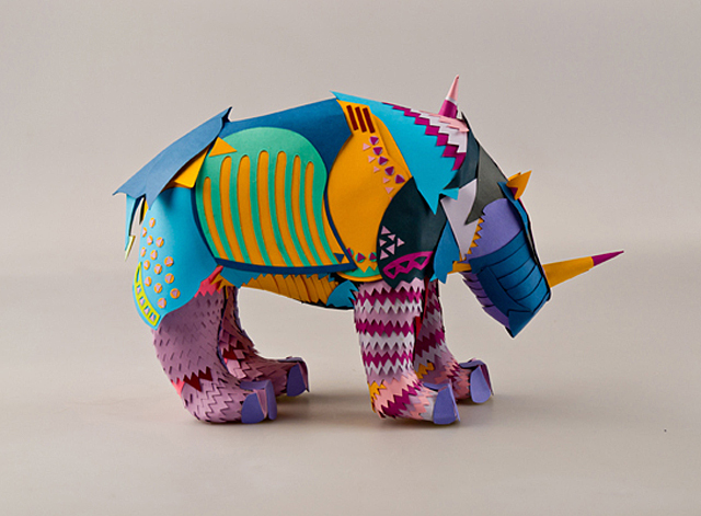 Albrecht Drer&#039;s Rhinoceros by Rebeka Molnar