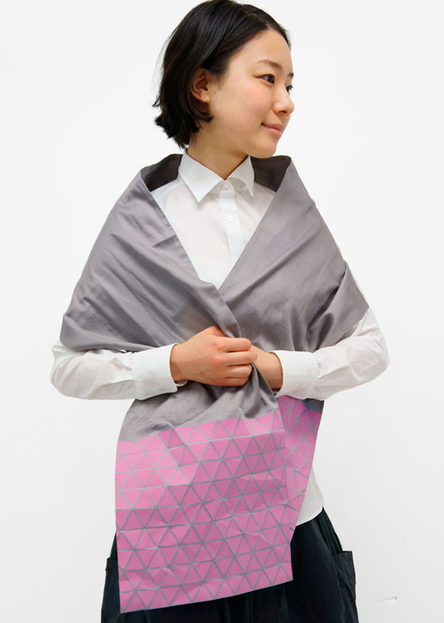 Origami-Inspired Fashion by Monomatopee