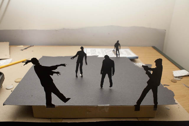 Paper Cut Silhouettes by David Reeves