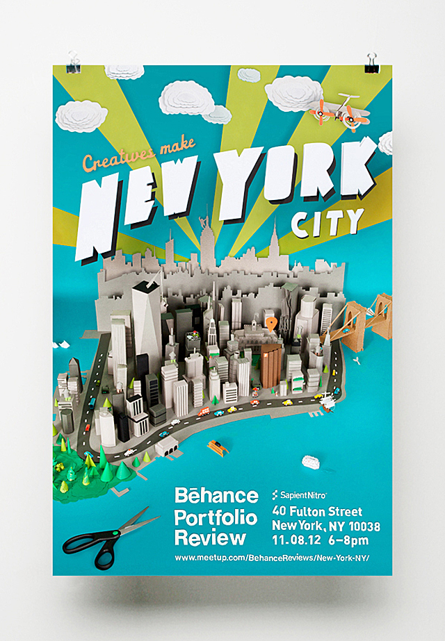 Creatives Make New York City - Behance