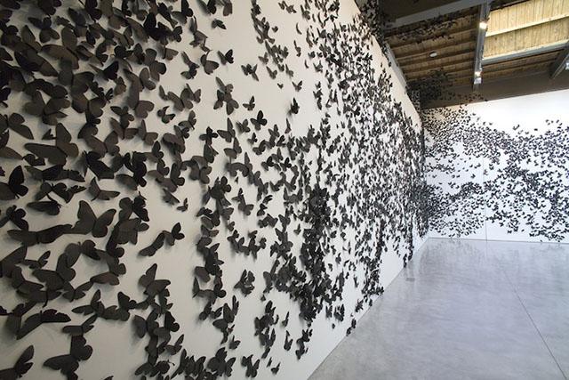 30,000 Swarming Paper Moths