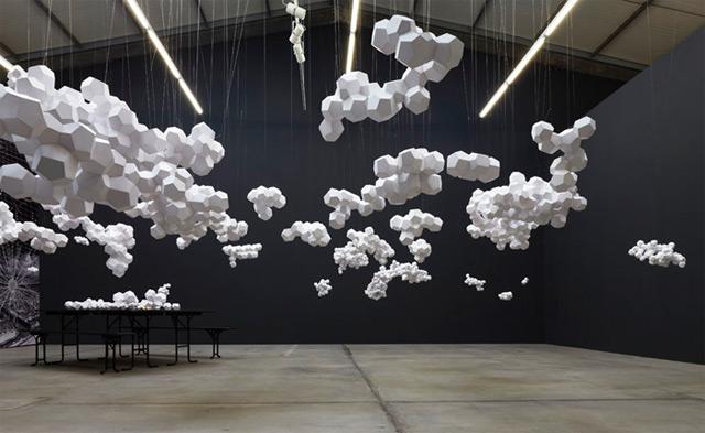 Tomas Saraceno: Cloudy House 1
