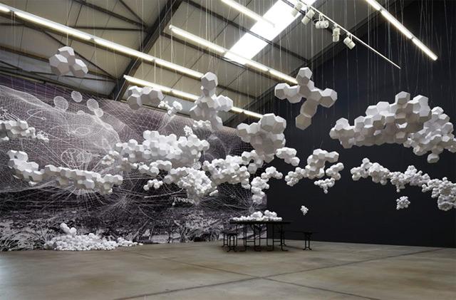 Tomas Saraceno: Cloudy House 3