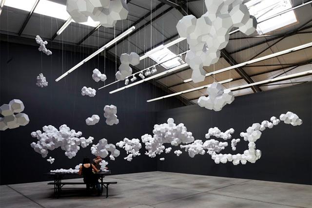 Tomas Saraceno: Cloudy House 4