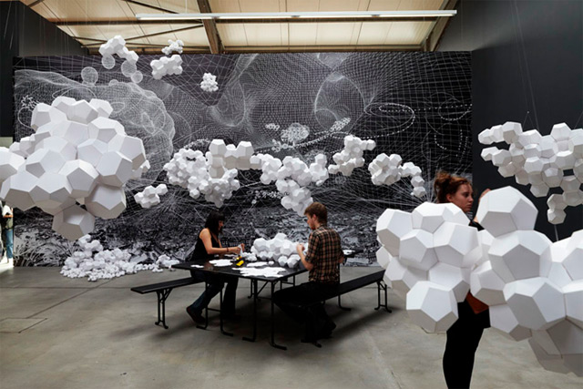 Tomas Saraceno: Cloudy House 5