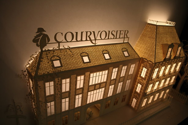 Courvoisier&#039;s Paper Craft Pop-Up
