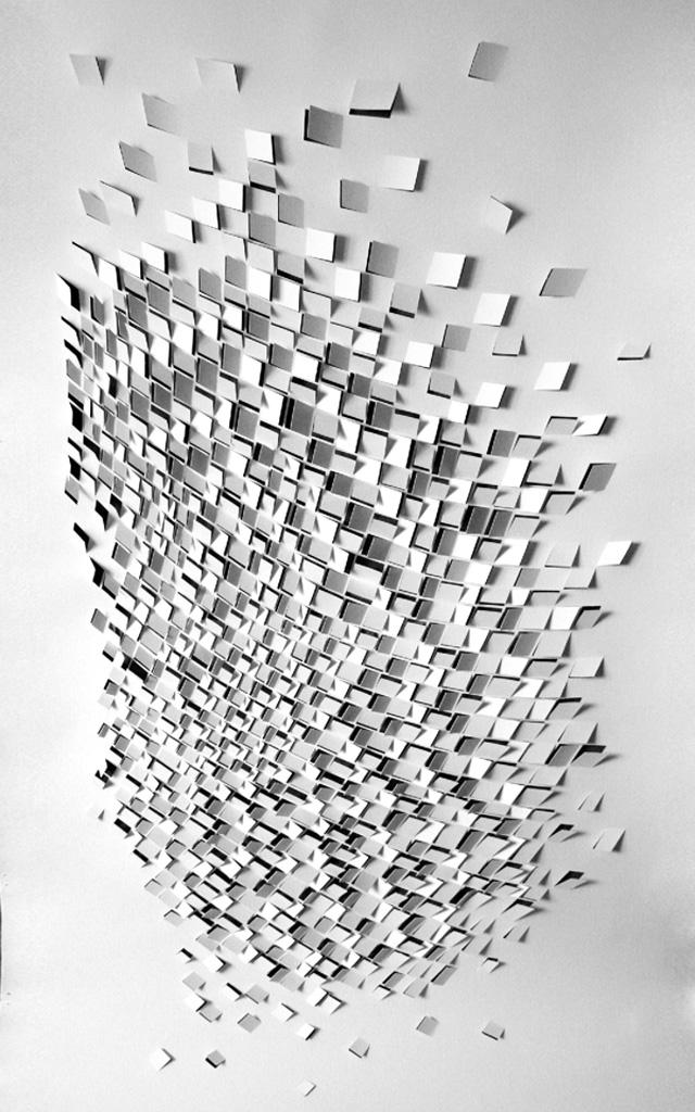 seismic haikus in paper strictlypaper. Black Bedroom Furniture Sets. Home Design Ideas
