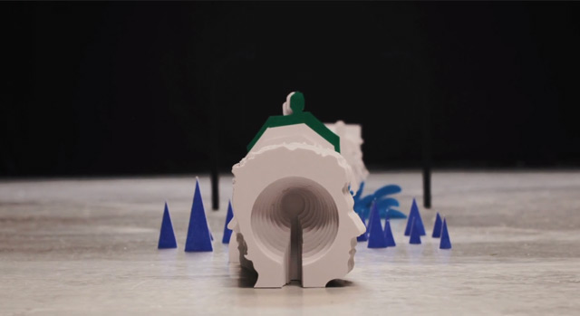 Stop-Motion Music Video for Shugo Tokumaru by Kijek / Adamski