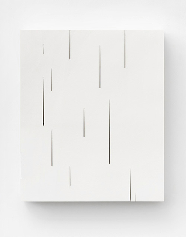 Bianca Chang - Form in white (Gradient), 2012 Paper