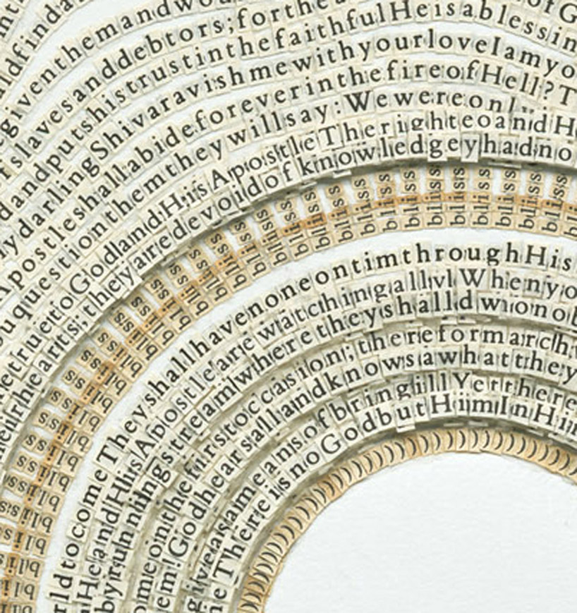 Paper Cut Religious Rewritings by Meg Hitchcock