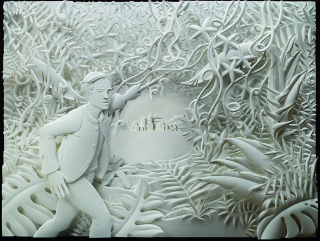 Interview With Relief Paper Sculpture Artist Jeff Nishinaka