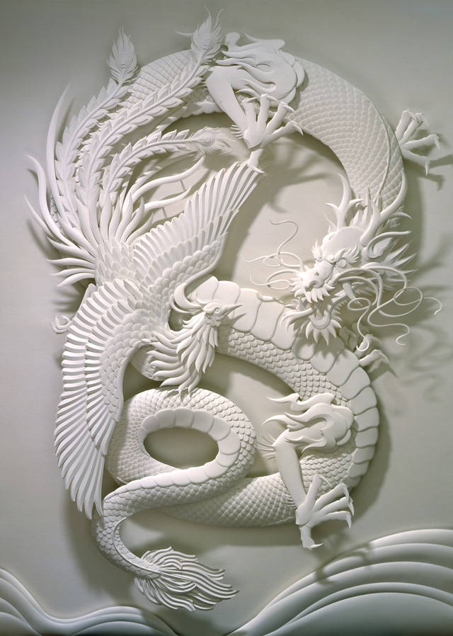 Interview with relief paper sculpture artist jeff