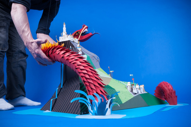 Paper Dragoon by INK Studio