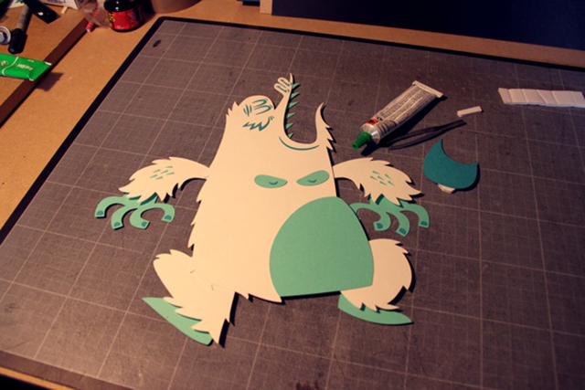 Yeti Attack by Tougui