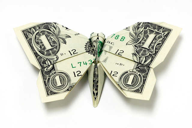moneygami by won park strictlypaper