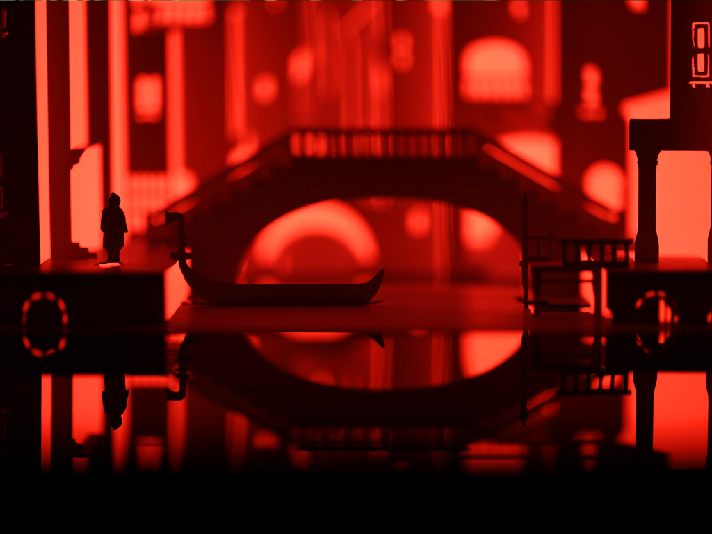 New Horrorgami - Don't Look Now Detail