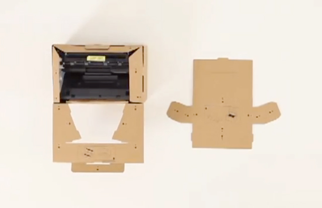 ORIGAMI: 100% Recyclable Personal Mono Laser Printer