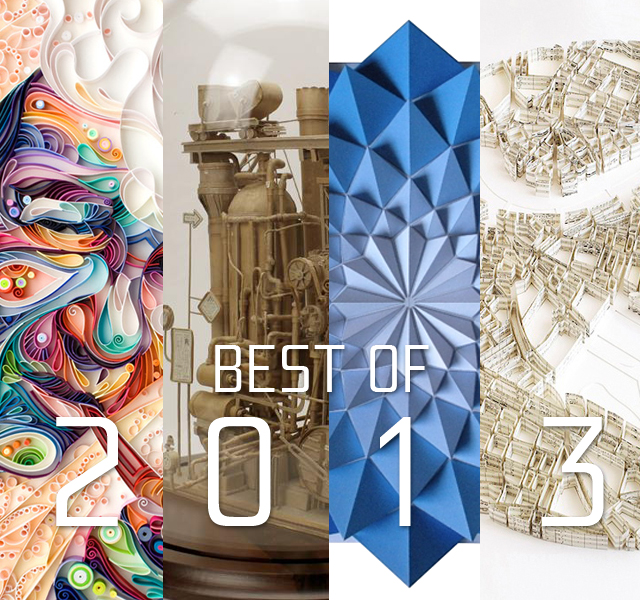 20 Best Paper Art Works Of 2013