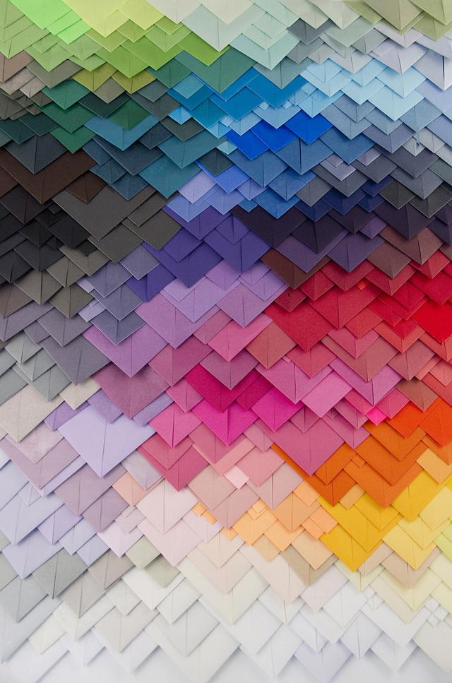 3D Paper Patterns by Maud Vantours