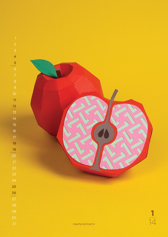 Fun Flavors 2014 Calendar By Nearly Normal Jan