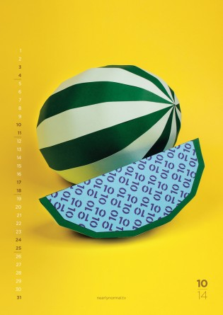 Fun Flavors 2014 Calendar By Nearly Normal October