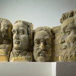 Recycled Book Sculptures By Long-Bin Chen Mount Rushmore