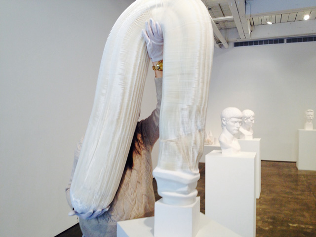 Li Hongbo Tools Of Study Solo Exhibition at Klein Sun Gallery