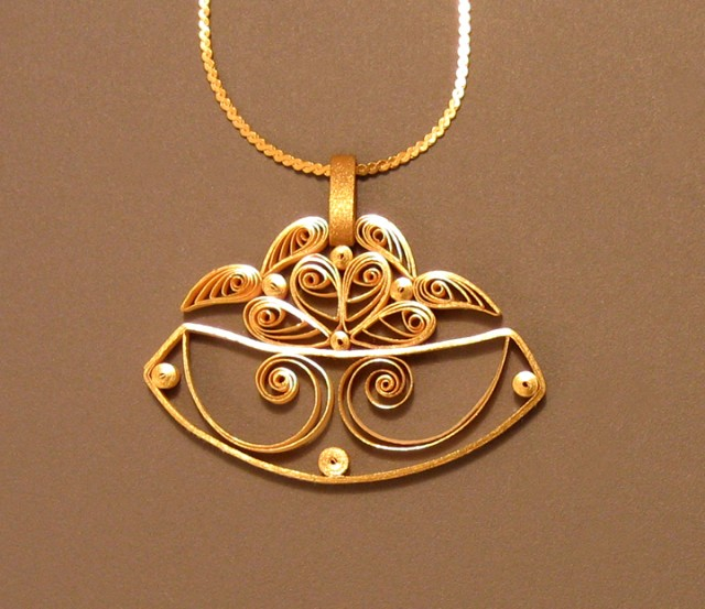 Quilled Designs by Ann Martin of All Things Paper Jewelry