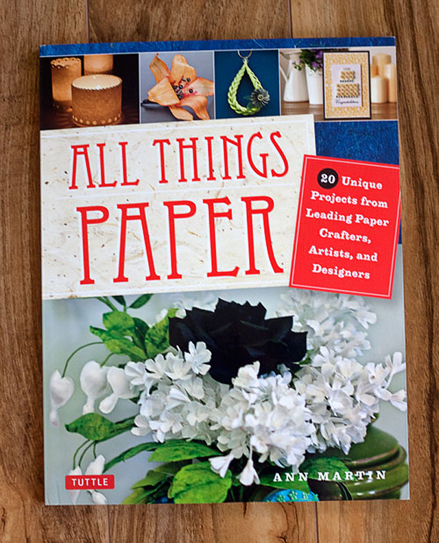 Quilled Designs by Ann Martin of All Things Paper Book