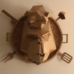 Cardboard Chefpanzee By Boris Klimov Front