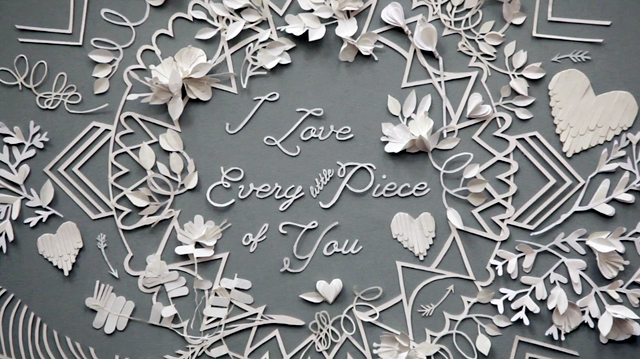 everyday-i-love-you-to-pieces-paper-art