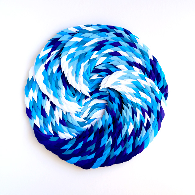 Stimulate/Sedate Paper Illustrations By Marine Coutroutsios Spirals