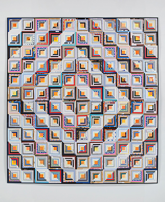 Paper Envelopes Made Into Geometric Quilts 2