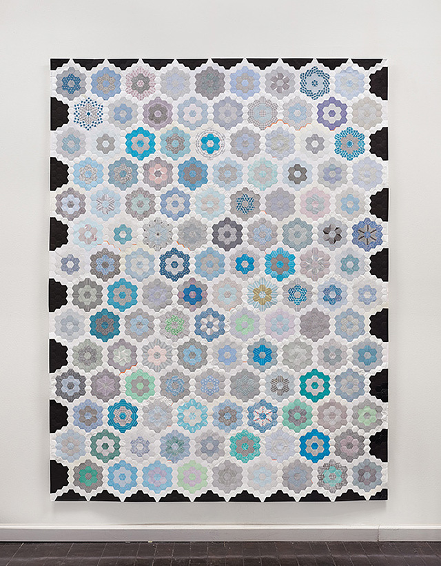 Paper Envelopes Made Into Geometric Quilts 6