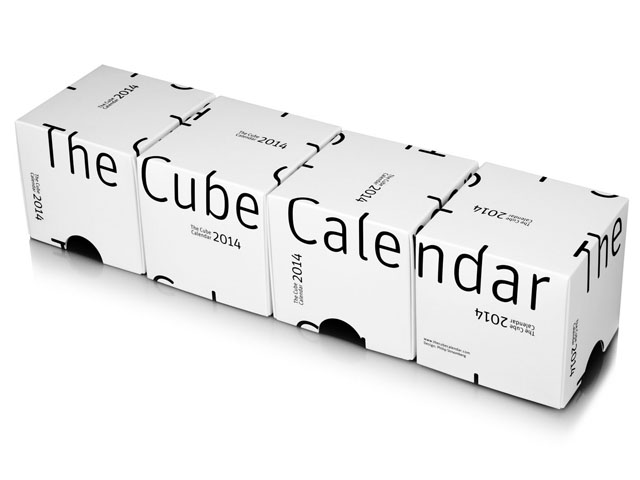 The Cube Calendar By Philip Stroomberg 4 boxes